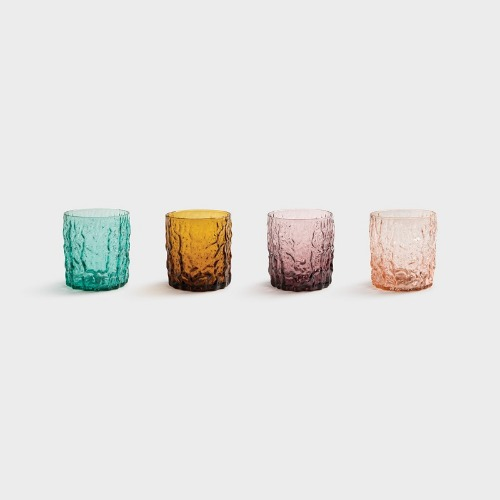 [앤클레버링] GLASS TRUNK SET OF 4