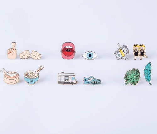 [도이] PINAHOLIC PIN BROOCH - SET OF 2