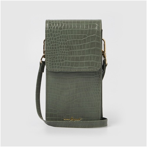 [어반 오리지널] CROC PHONE WALLET GREEN *vegan